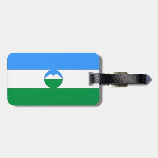 Kabardino-Balkaria Flag Luggage Tag