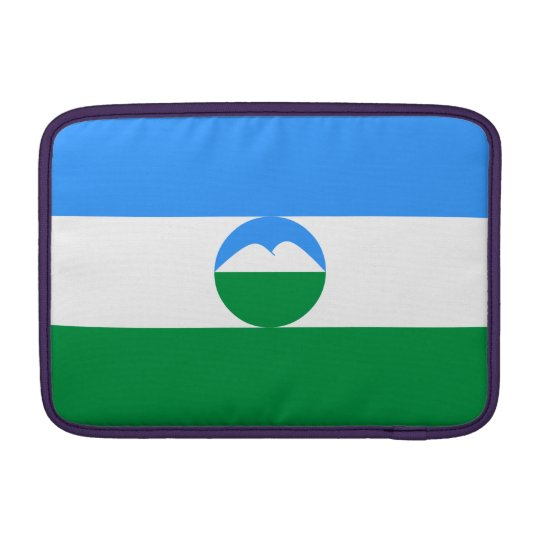 Kabardino-Balkaria Flag MacBook Sleeve
