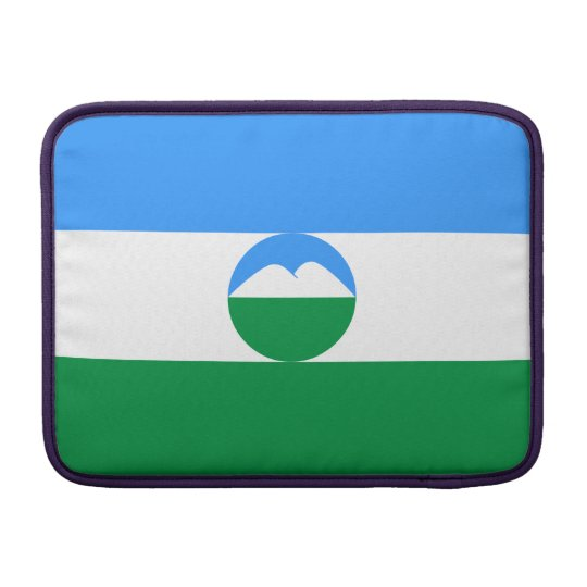 Kabardino-Balkaria Flag MacBook Sleeve