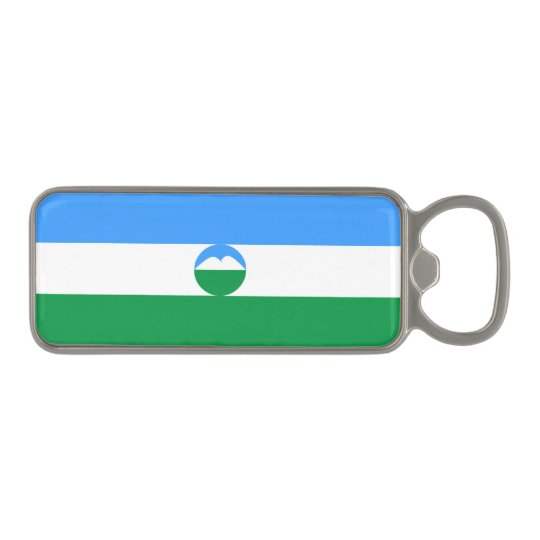 Kabardino-Balkaria Flag Magnetic Bottle Opener