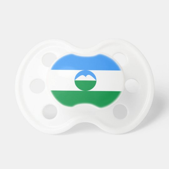 Kabardino-Balkaria Flag Pacifier