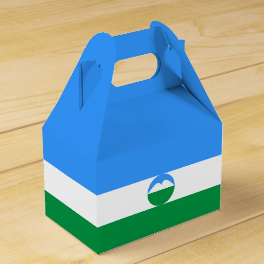 Kabardino-Balkaria Flag Party Favor Boxes