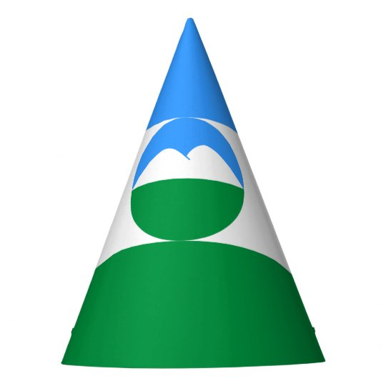 Kabardino-Balkaria Flag Party Hat