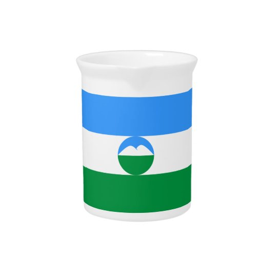 Kabardino-Balkaria Flag Pitcher