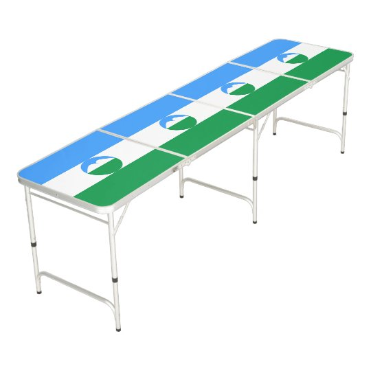 Kabardino-Balkaria Flag Pong Table