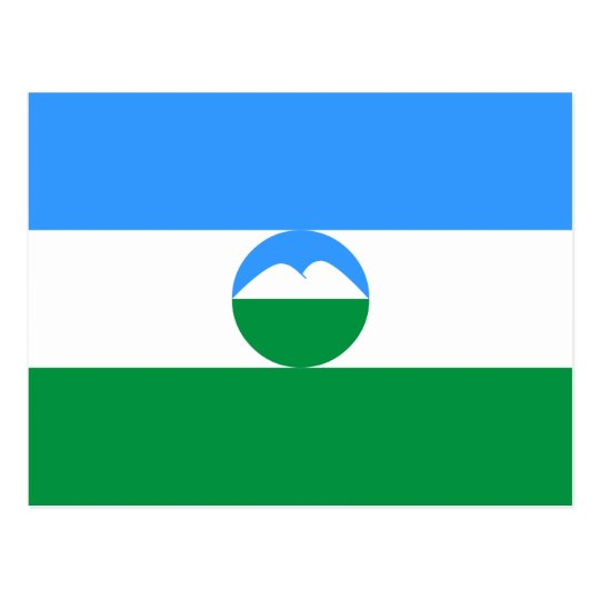 Kabardino-Balkaria Flag Postcard