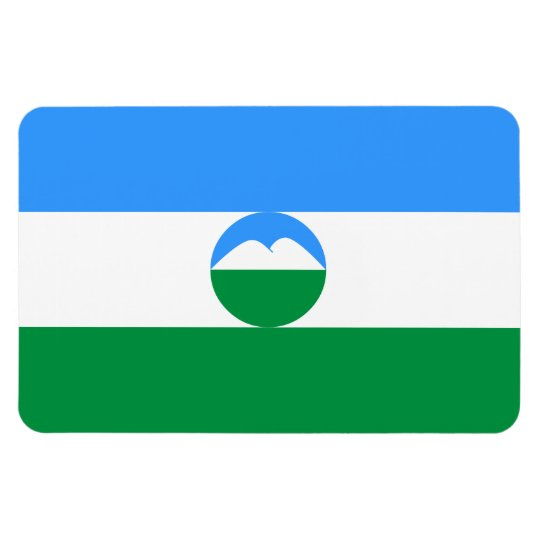 Kabardino-Balkaria Flag Rectangular Photo Magnet