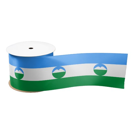 Kabardino-Balkaria Flag Satin Ribbon