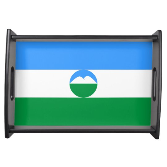 Kabardino-Balkaria Flag Serving Tray