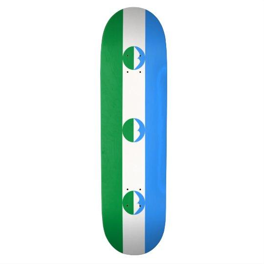Kabardino-Balkaria Flag Skateboard Deck