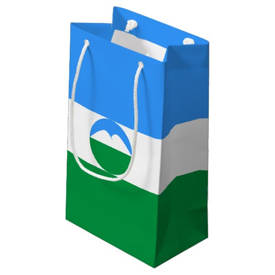 Kabardino-Balkaria Flag Small Gift Bag
