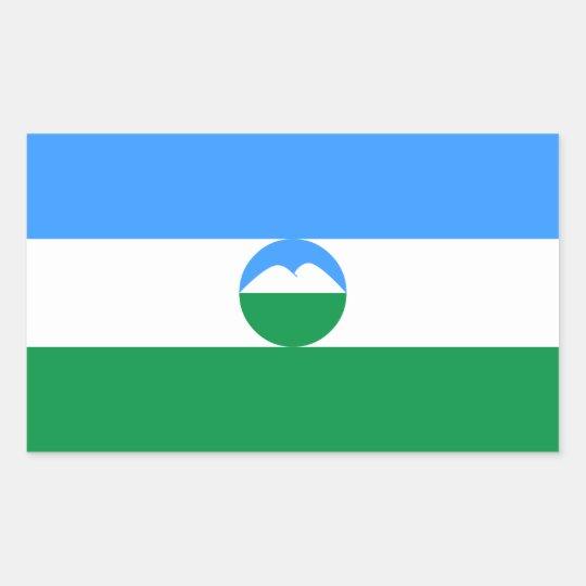 Kabardino-Balkaria Flag Sticker