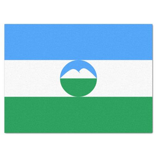 Kabardino-Balkaria Flag Tissue Paper