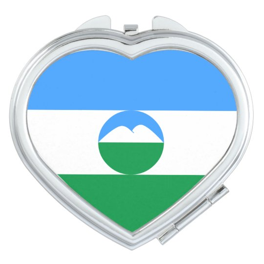 Kabardino-Balkaria Flag Travel Mirror
