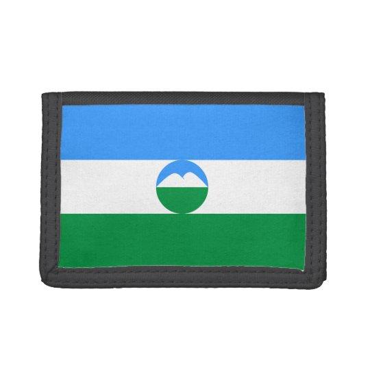 Kabardino-Balkaria Flag Tri-fold Wallets
