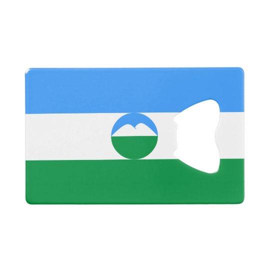 Kabardino-Balkaria Flag Wallet Bottle Opener