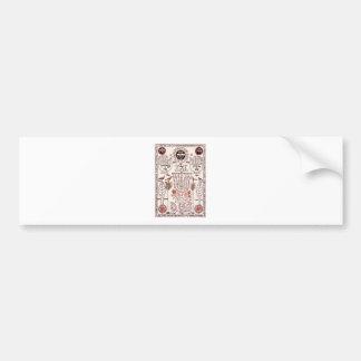 Kabbalah Design Bumper Sticker