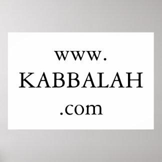 kabbalah web site poster