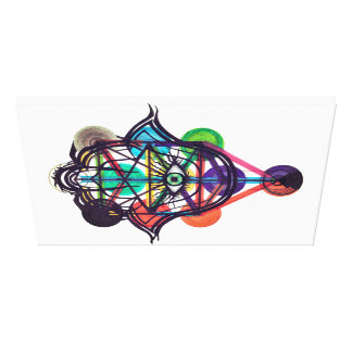 Kabbalistic Tree of Life Canvas Print