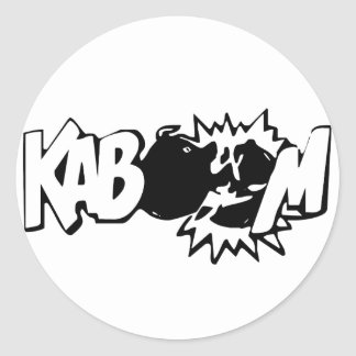 Kaboom! 3 Stickers