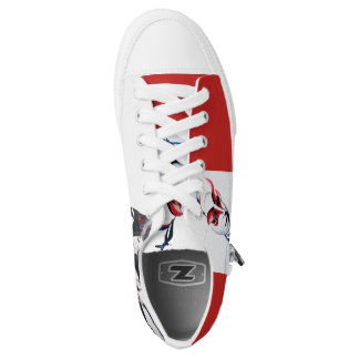 Kabuki & Geisha Low-Top Sneakers