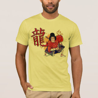 Kabuki Japanese Actor Folk Art T-Shirt