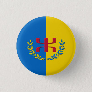 Kabylian flag 1 inch round button