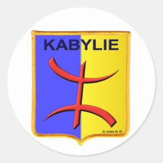 kabylie Kabylian amazigh Algeria Round Sticker