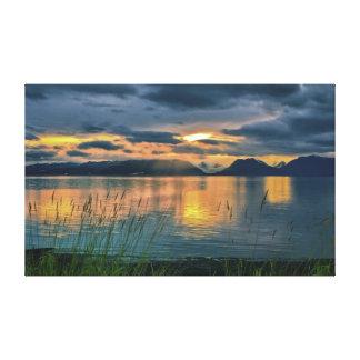 Kachemak Bay Alaska Canvas Print
