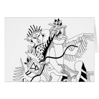 Kachina Dance Card