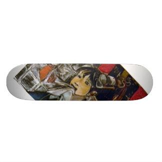 Kachina Geisha Skateboard