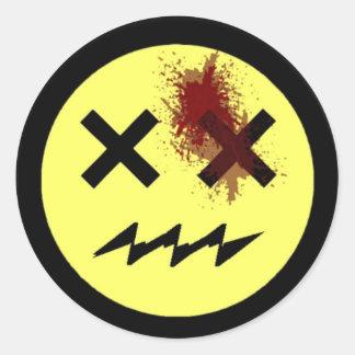 Kackman 2014 round sticker