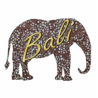 Kade Batik Elephant Magnet Photo Sculpture Magnet