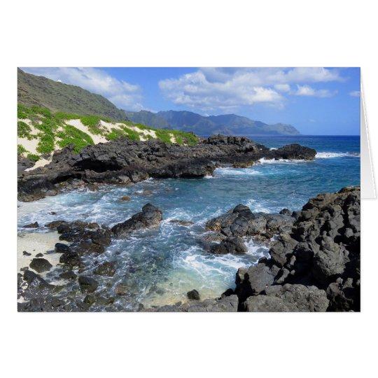 Kaena Point, Oahu, Hawaii Card