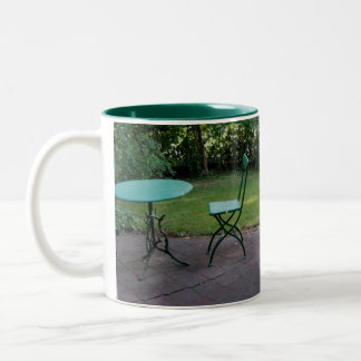 Kaffe Alfresco Two-Tone Coffee Mug