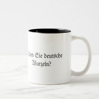 Kaffee Time!! Two-Tone Coffee Mug