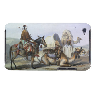 Kafila with a Camel Bearing a Hodesh, illustration Barely There iPod Cases