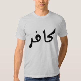 Kafir (infidèle) tshirt