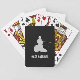 Kage Samurai Playing Cards