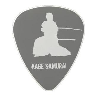 Kage Samurai Polycarbonate Guitar Pick