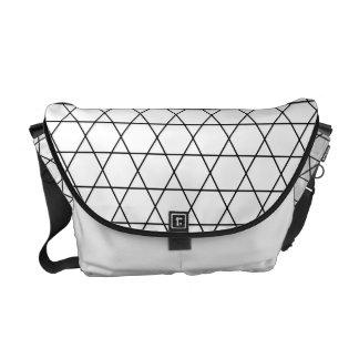 Kagome Japanese Pattern Messenger Bag