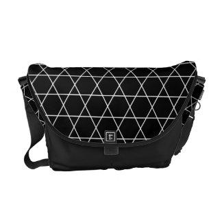 Kagome Japanese Pattern Messenger Bag B