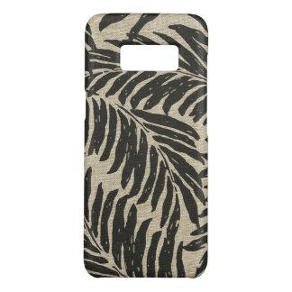 Kahanu Palms Hawaiian Linen Texture Case-Mate Samsung Galaxy S8 Case