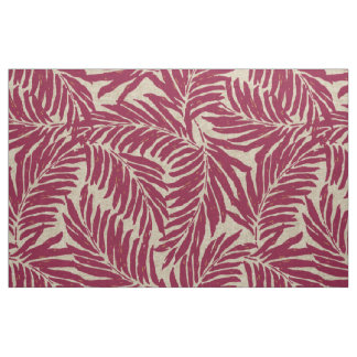Kahanu Palms Hawaiian Linen Texture Fabric