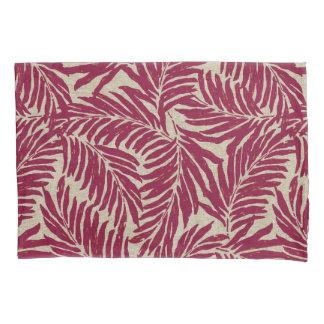 Kahanu Palms Hawaiian Linen Texture Pillowcase