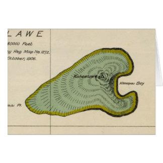 Kahoolawe, Hawaii Card