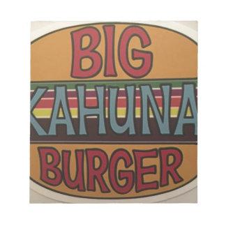 Kahuna Burger Notepad