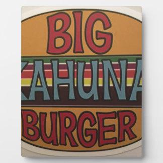 Kahuna Burger Plaque