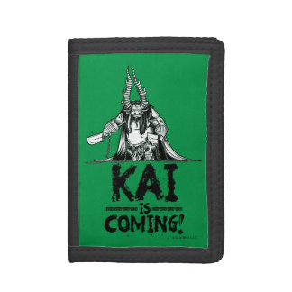 Kai is Coming! Trifold Wallet