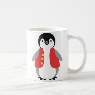 Kai Penguin Classic White Coffee Mug